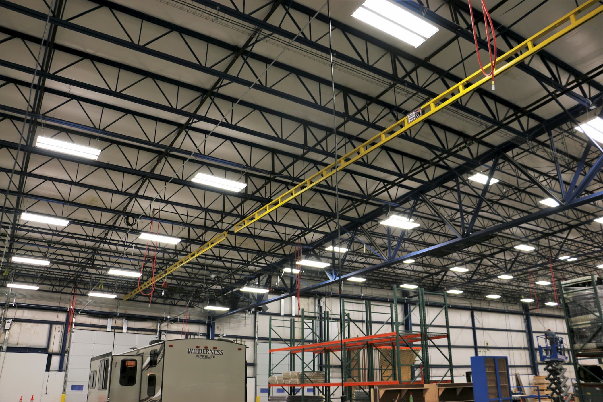 Enclosed Track Fall Protection