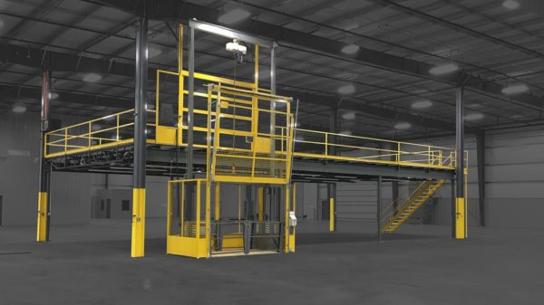 Mezzanine with VRC in a Manufacture Plant