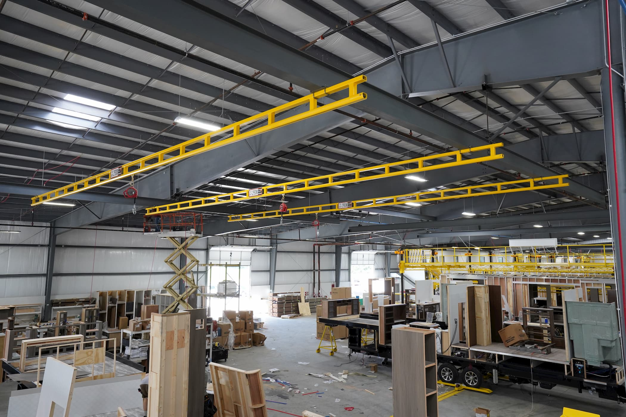 Rigid Enclosed Track Fall Protection